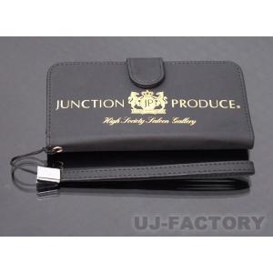 【JUNCTION PRODUCE】 ジャンクションプロデュース iphone7 対応ケース ブラック 《ロゴカラー / ゴールド》|uj-factory
