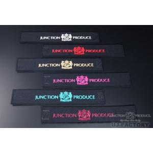 【JUNCTION PRODUCE】 ジャンクションプロデュース  カーテンベルト  《ブラック × レッド》|uj-factory