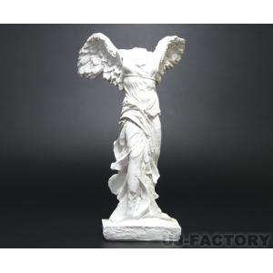 【即納可/特価品】 勝利の女神♪ サモトラケのニケ像 / ホワイト 卓上サイズ WHITE 白
