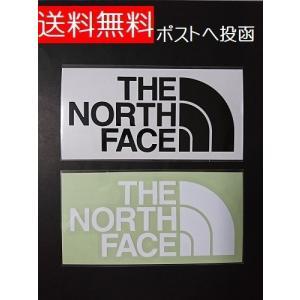 【2枚セット】 THE NORTH FACE ザ ノースフェイス ステッカー NN88106 TNF...