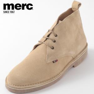 Merc London メルク シューズ 本革レザー 革靴 靴 本革 スエード モッズファッション ...