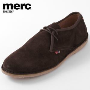 Merc London メルク シューズ 本革レザー 革靴 靴 本革 チョコレート Tooley モ...