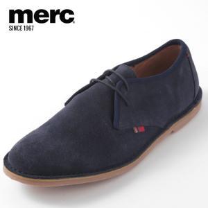 Merc London メルクロンドン メルク シューズ 本革レザー 革靴 靴 本革 ネイビー To...