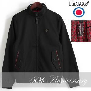 メルクロンドン Merc London ハリントンジャケット 50周年記念 スウィングトップ ブラック|ukclozest