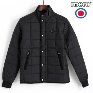 メルクロンドン Merc London ライダージャケット キルティング ブラック ブルゾン|ukclozest