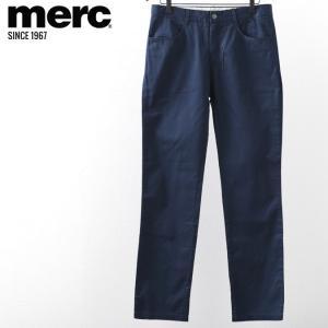 メルクロンドン メンズ トラウザー チノパン モッズ メルク ボトムス パンツ ズボン Merc London ネイブレット ネイビー|ukclozest