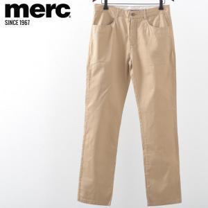 メルクロンドン メンズ トラウザー チノパン モッズ メルク ボトムス パンツ ズボン Merc London タン|ukclozest
