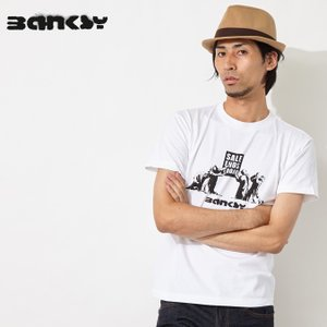Banksy バンクシー Sale Now On Worship Tシャツ|ukclozest