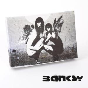 """BANKSY CANVAS ART SMALL キャンバス アートパネル ポスター スモール  """"D..."""