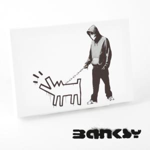 """BANKSY CANVAS ART SMALL キャンバス アートパネル ポスター スモール  """"H..."""