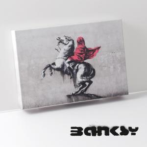 BANKSY CANVAS ART バンクシー キャンバスアート スモール 30cm × 21cm ...
