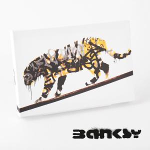 """BANKSY CANVAS ART SMALL キャンバス アートパネル ポスター スモール  """"T..."""