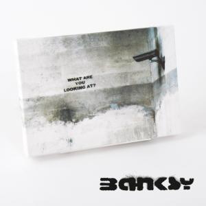 """BANKSY CANVAS ART SMALL キャンバス アートパネル ポスター スモール  """"W..."""