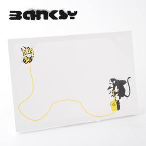 "BANKSY CANVAS ART バンクシー キャンバスアート ポスター  ""Monkey Ban..."