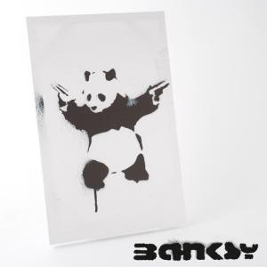 "BANKSY CANVAS ART バンクシー キャンバスアート ポスター  ""Panda With..."