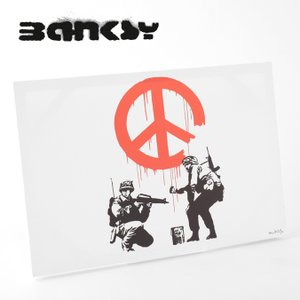 BANKSY CANVAS ART バンクシー キャンバスアート ポスター