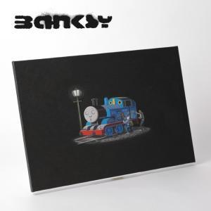 BANKSY CANVAS ART バンクシー キャンバスアート 60cm × 40cm Thoma...