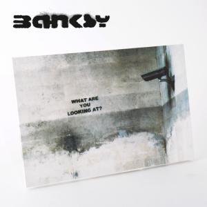 """BANKSY CANVAS ART バンクシー キャンバスアート ポスター """"What Are Yo..."""