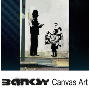 Banksy バンクシー Police Man Little Girl Bombs アート|ukclozest