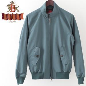 バラクータ G9 オリジナル ハリントンジャケット ブルーレイク 英国製 メンズ リブ ブルゾン