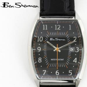 ベンシャーマン Ben Sherman 腕時計 ブラックフェイス 縦長 メンズ モッズ ギフト|ukclozest