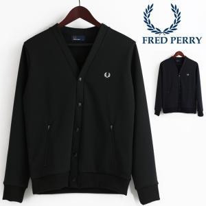 【送料無料】 上着 アウター 黒 紺 フレッド・ペリー フレッドペリー Fred Perry ジャー...