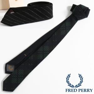 フレッドペリー Fred Perry ネクタイ シルク ナロータイ 2色 メンズ レディース 日本製|ukclozest