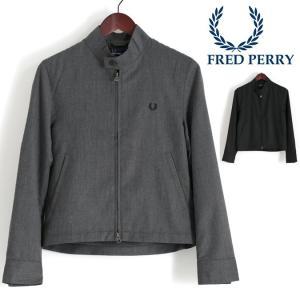 【送料無料】 スウィングトップ スイングトップ 上着 アウター 黒 灰 フレッド・ペリー フレッドペ...