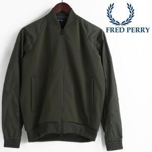 フレッドペリー 正規販売店 Fred Perry ジャケット ボンバーネック トラックジャケット ジ...
