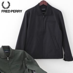 【送料無料】 ジャケット 上着 伸縮性 黒 緑 アウター フレッド・ペリー f2600 07 45 ...