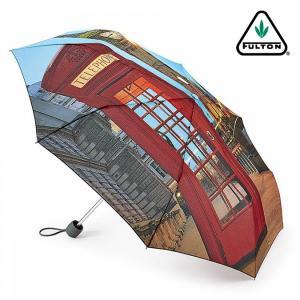 フルトン FULTON 傘 レディース Minilite 折り畳み傘 女性用 かさ ロンドンシーン