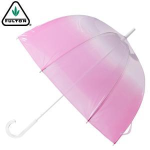 フルトン 傘 Fulton バードケージ BIRDCAGE グラデーション pink ピンク|ukclozest