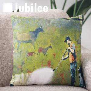 【バンクシー Banksy クッションカバー】 Cushion Cover 北欧デザイン 45×45...
