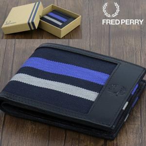 フレッドペリー Fred Perry 財布 二つ折り財布 レザー ビルフォード レディース メンズ|ukclozest