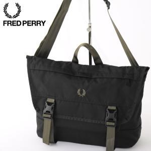 フレッドペリー メンズ メッセンジャーバッグ ショルダーバッグ Fred Perry 41×25×1...