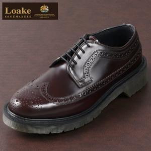 【送料無料】 シューズ 英国製 紳士 男性 Shoemakers ブローグ 黒 Loake Engl...