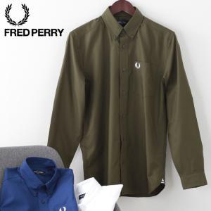 フレッドペリー メンズ オックスフォードシャツ フォーマル プレッピー Fred Perry 3色 ...