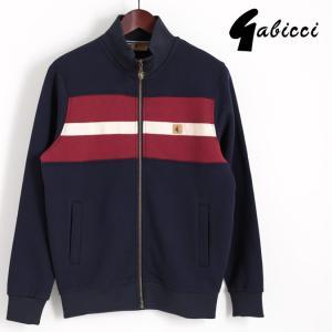 Gabicci ガビッチ ビンテージ フルジップ トラックジャケット ネイビー レトロ メンズ モッズファッション ギフト|ukclozest
