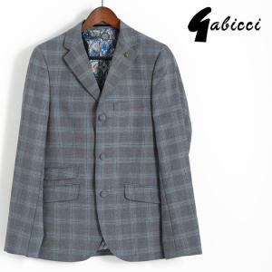 Gabicci ガビッチ ビンテージ テーラード チェック ウール ジャケット レトロ メンズ スーツ セットアップ モッズファッション|ukclozest