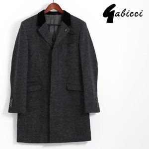 Gabicci ガビッチ ビンテージ チェック チェスターコート レトロ ウール メンズ モッズファッション ギフト|ukclozest