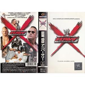 (中古品) WWE RAW 10th アニバーサリー【字幕版】 [VHS]  【メーカー名】 パイオ...