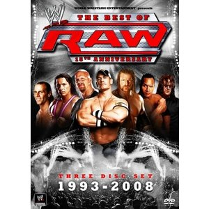 (中古品) WWE RAW 15th アニバーサリー(3枚組) [DVD]  【メーカー名】 東宝 ...