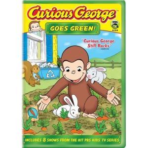 (中古品)Curious George Goes Green [DVD] [Import]