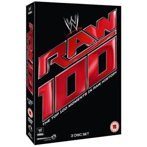 (中古品) TOP 100 RAW MOMENTS WWE - COFFRET 3 DVD  【メー...