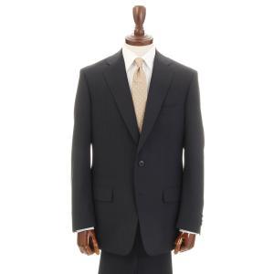 2パンツスーツ/メンズ/春夏/ツーパンツ/BASIC 2つボタンスーツ ピンストライプ NZ-01 ダークネイビー×ミディアムグレー|uktsc