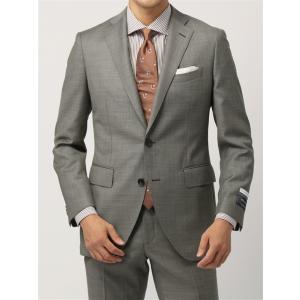 ビジネススーツ/メンズ/通年/20周年記念アイテム/FIT 2つボタンスーツ シャークスキン CH-...