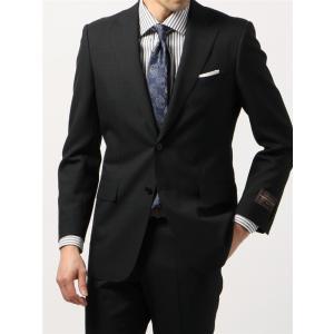 ビジネススーツ/メンズ/春夏/BASIC 2つボタンスーツ シャドーチェック IZ-01 ブラック|uktsc