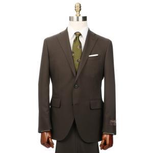 ビジネススーツ/メンズ/春夏/2つボタンスーツ 無地 CH-14 ブラウン|uktsc