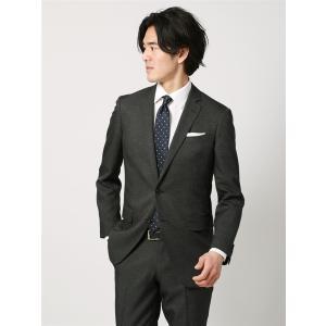 2パンツスーツ/メンズ/春夏/ツーパンツ・ウォッシャブル/FIT 2つボタンスーツ NR-05 チャコールグレー×ライトグレー|uktsc