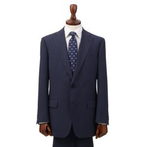 ビジネススーツ/メンズ/通年/ウォッシャブル/BASIC 2つボタンスーツ バーズアイ NZ-01 ネイビー×ブルー|uktsc